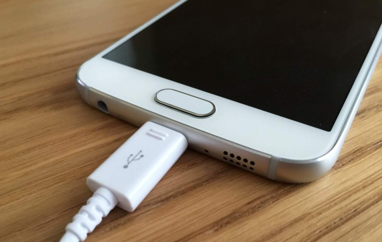 damage phone charging