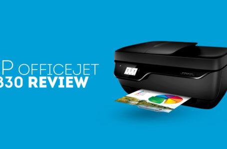 HP Officejet 3830 All in One Wireless Printer Review